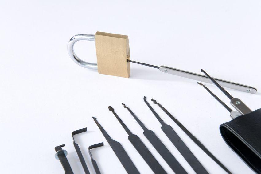 Werkzeug vom Schlüsseldienst